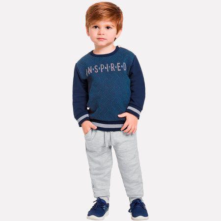 91f7ce3f481f4d Conjunto Infantil Masculino Casaco + Calça Milon - Milon