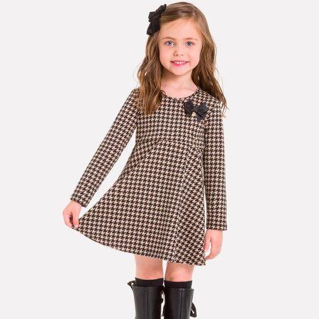 ce5c41362 Vestido Infantil Milon Cotton M6518.8540.4