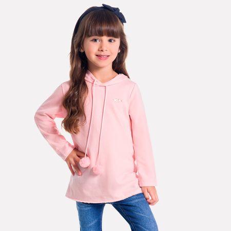 403190a9a4 Blusa Infantil Feminina Milon Moletinho M6500.40071.10