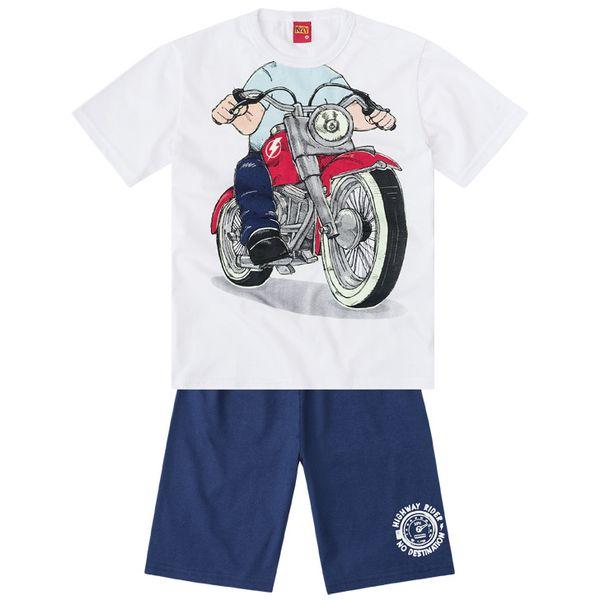 db60bb3fda2d72 Pijama infantil menino em meia malha - Kyly