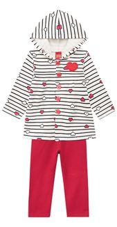 Conjunto Infantil Feminino Blusa + Legging Kyly f0c67744a7adb