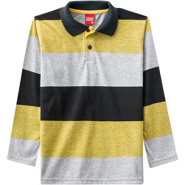 Camisa Polo Infantil Masculina Kyly Meia Malha 5b92e24d3e89d