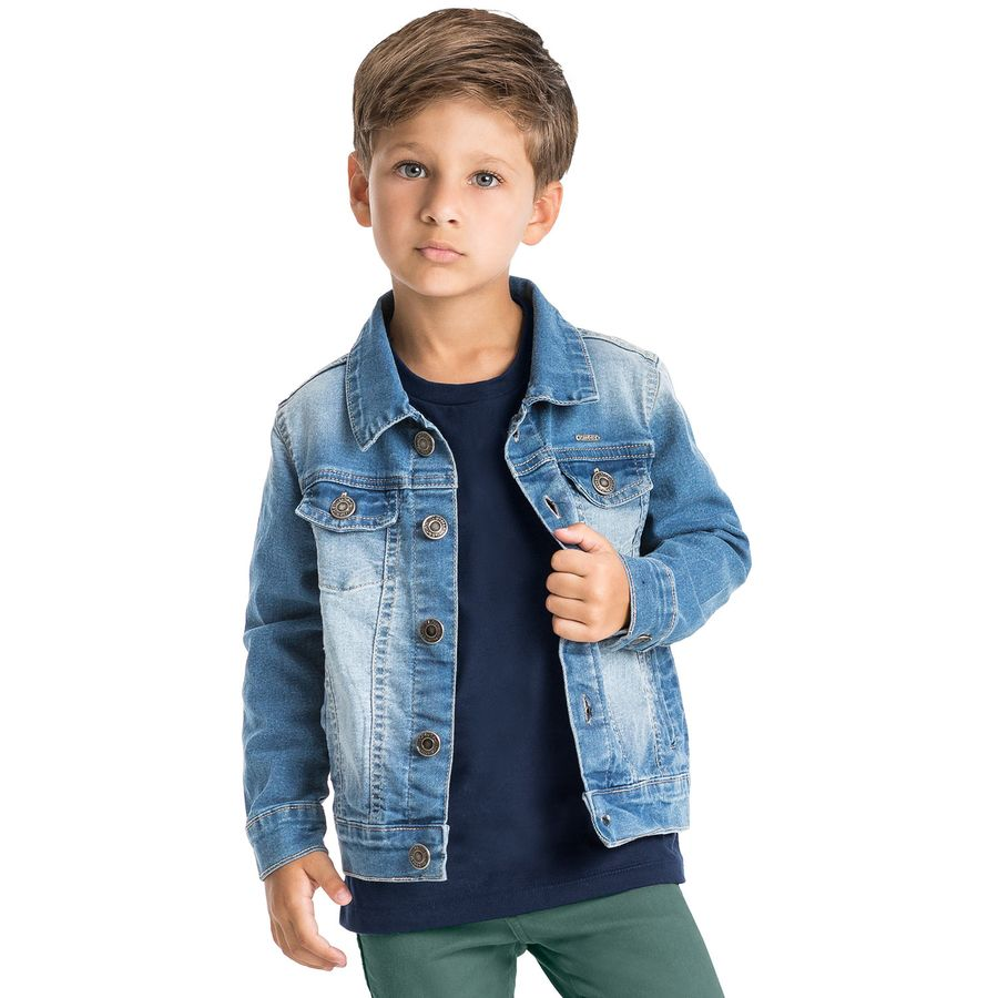 81650421da Jaqueta Infantil Masculina Milon - Milon