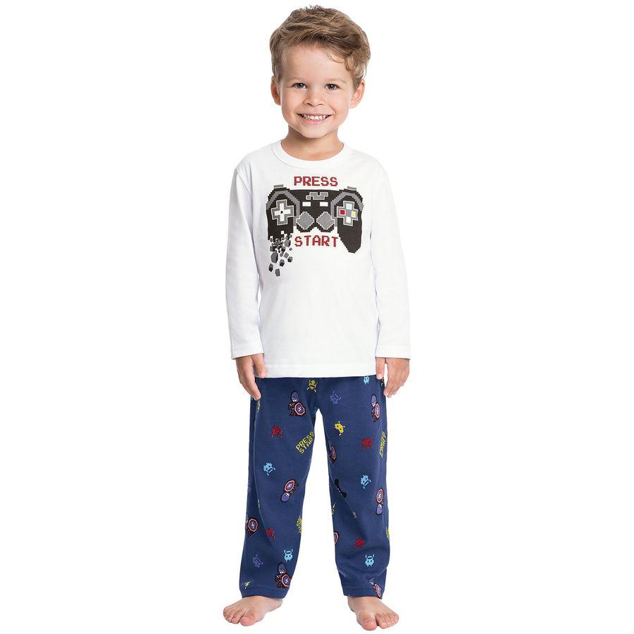 9d5d540e6aa055 Pijama Infantil Masculino Kyly - Kyly