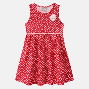 a19de9d1e Vestido Infantil Milon Cotton