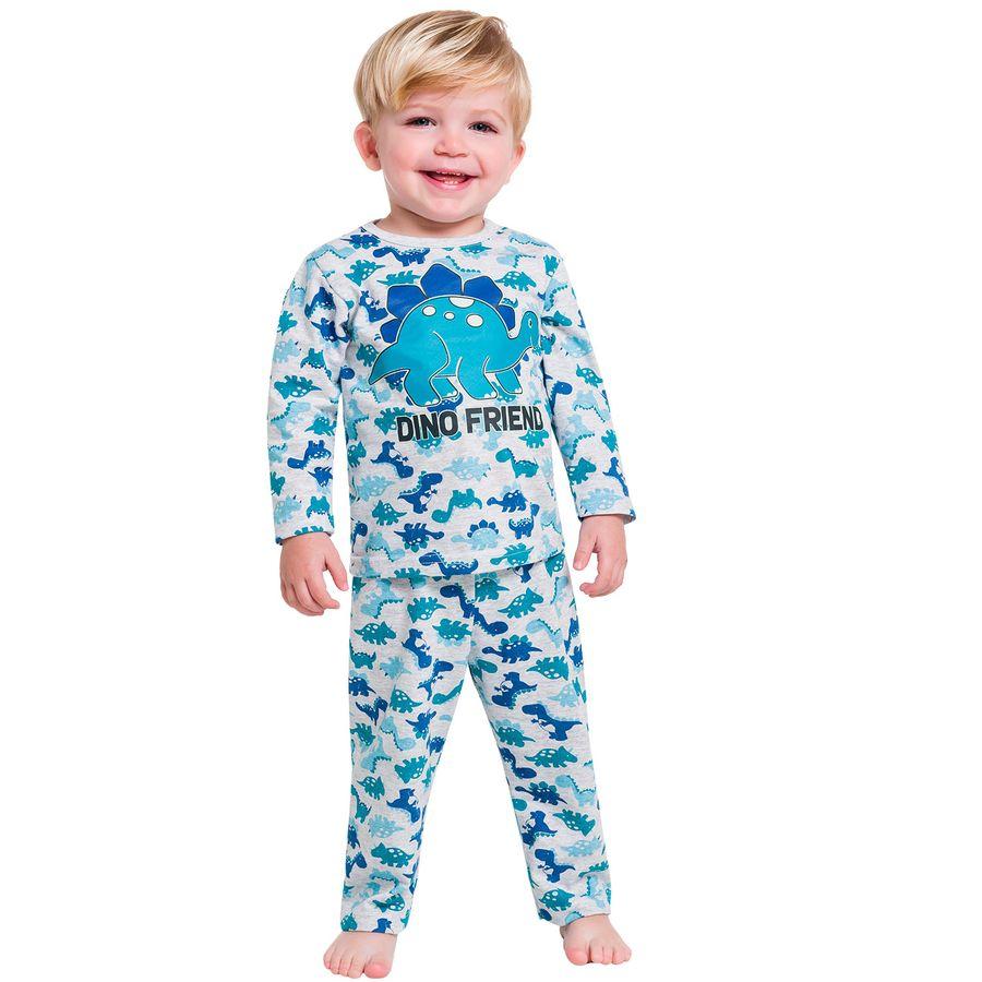 a004a4ccfa Pijama Infantil Masculino Blusa + Calça Kyly - Kyly