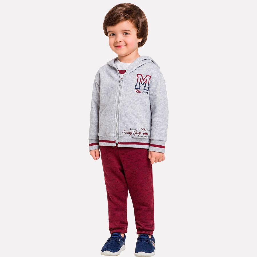 e8ef26fcbd20a7 Conjunto Infantil Masculino Casaco + Calça Milon - Universok